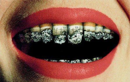 مضرات سیگار بر سلامت دهان