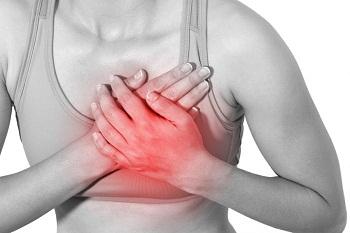 چرا خانمها دچار درد سینه می شوند؟