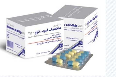 چه زمان باید از داروی مفنامیک اسید استفاده کرد؟