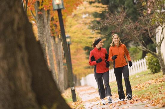 وقتی پیاده روی می کنید واکنش بدنتان چگونه است؟