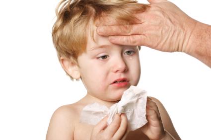 وقتی که کودکم دچار سرماخوردگی می شود
