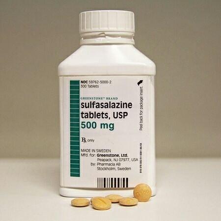 کاربرد داروی سولفاسالازین