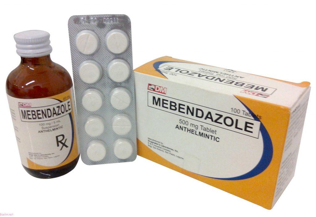 مبندازول Mebendazole