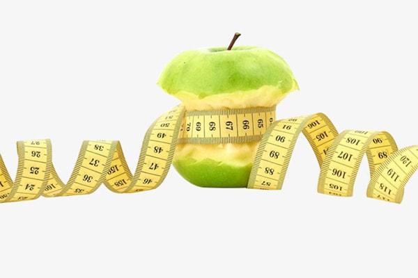 لاغری سریع با سیب