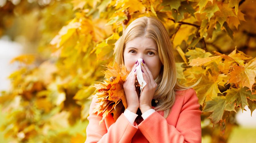 درمان حساسیت پاییزی