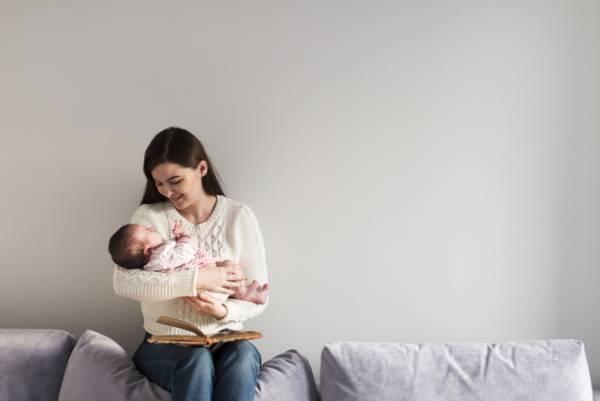 شیر دادن به نوزاد پس از زایمان