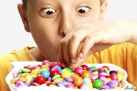 غذاهای ممنوع برای کودکان بیش فعال