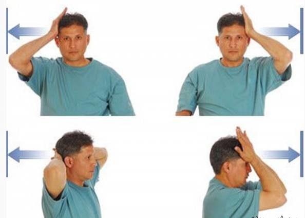 حرکت تقویت گردن