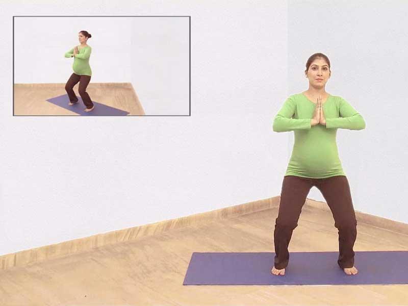 تمرین یوگا در بارداری