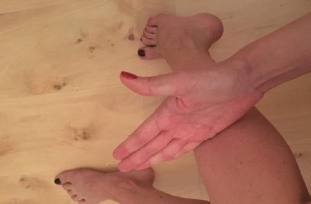 رفع خستگی پا