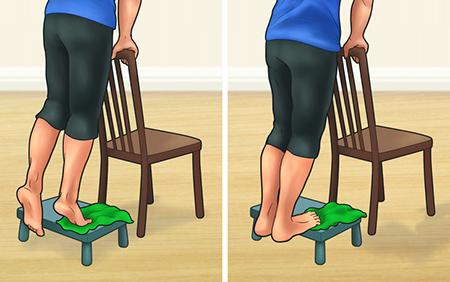 تمرین ارتوپدی برای مشکل صافی کف پا و افزایش دادن قوس کمر به همراه تصاویر