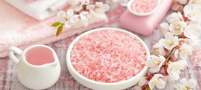 7 تأثیر شگفتانگیز از نمک حمام